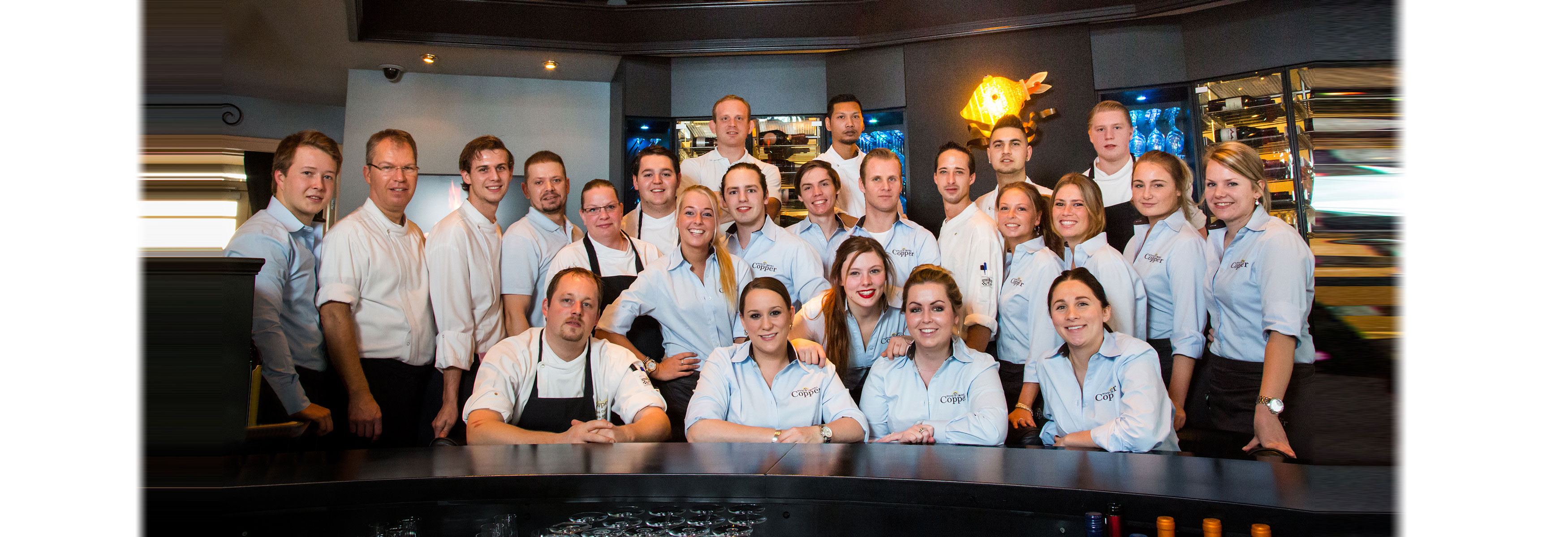 team restaurant Copper te Noordwijk