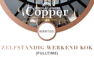 Copper-Wanted-zelfstandig-kok