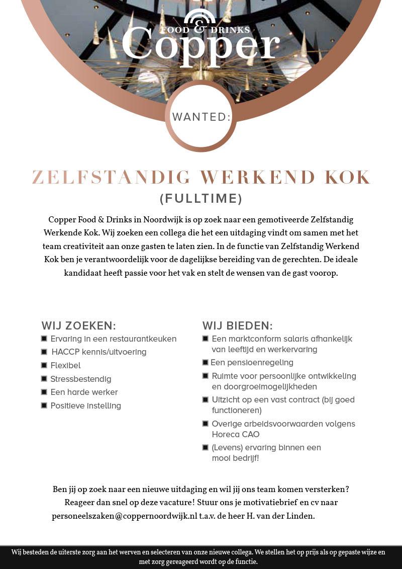Copper-vacature-Zelfstandig-Werkend-Kok